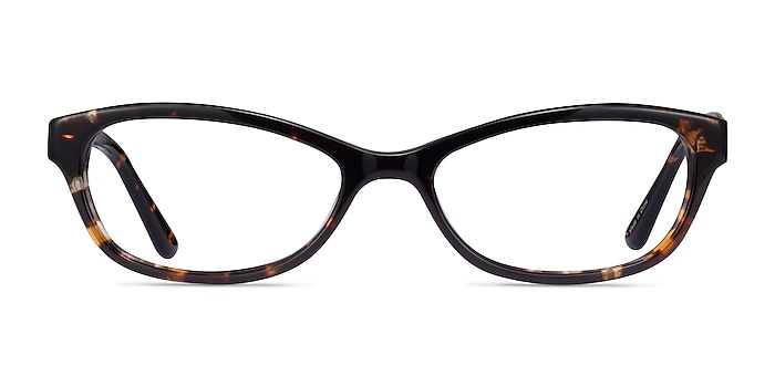 Lali Tortoise Acetate Eyeglass Frames from EyeBuyDirect