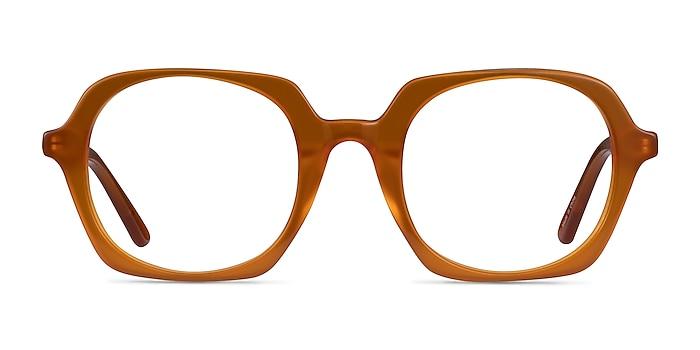 Faubourg Orange Acetate Eyeglass Frames from EyeBuyDirect