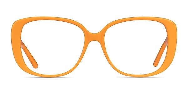 Mileva Orange Acetate Eyeglass Frames