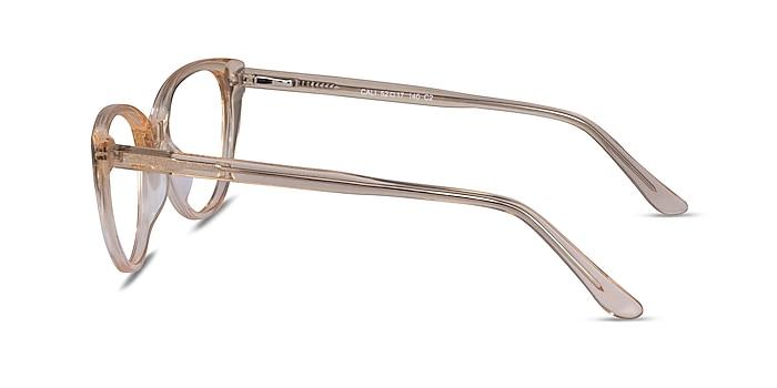 Cali Clear Yellow Acetate Eyeglass Frames from EyeBuyDirect