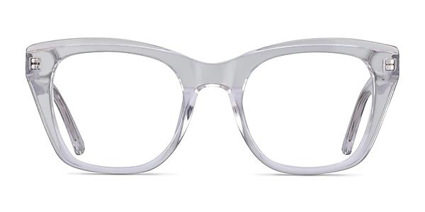 Cassie Clear Acetate Eyeglass Frames
