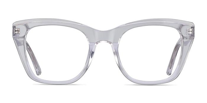 Cassie Clear Acetate Eyeglass Frames from EyeBuyDirect