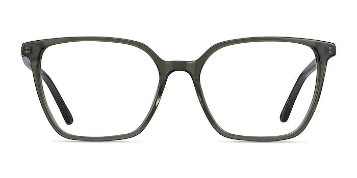 Nobel Clear Green Acetate Eyeglass Frames from EyeBuyDirect