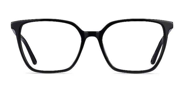 Nobel Black Acetate Eyeglass Frames from EyeBuyDirect