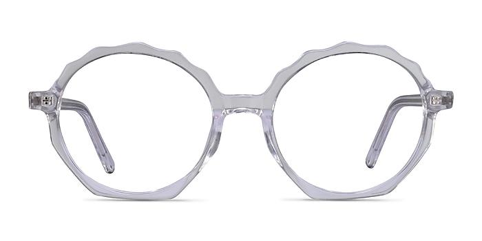Anemone Transparence Acétate Montures de lunettes de vue d'EyeBuyDirect