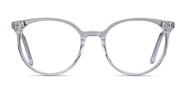 Janice Transparent Acétate Montures de lunettes de vue