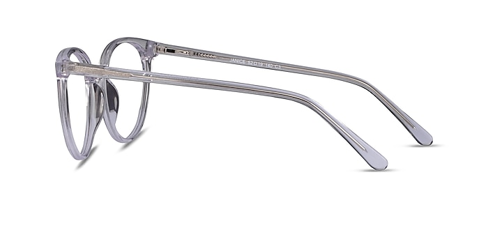Janice Clear Acetate Eyeglass Frames from EyeBuyDirect