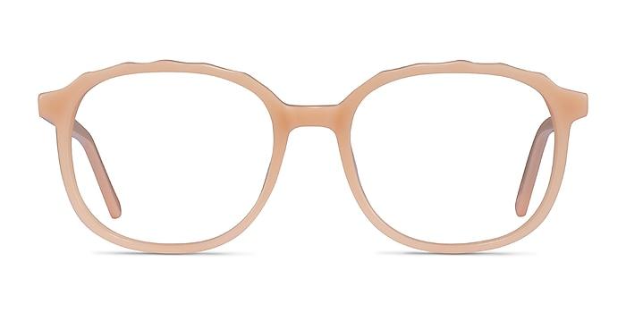 Maria Clear Nude Acétate Montures de lunettes de vue d'EyeBuyDirect
