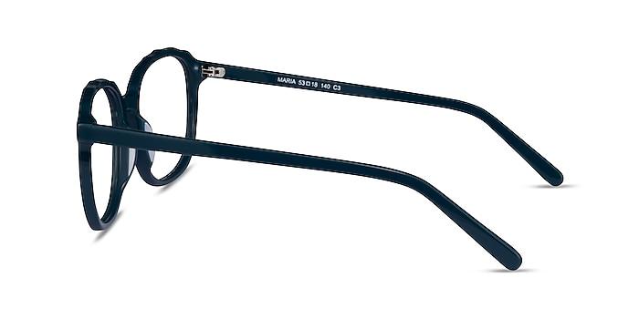 Maria Teal Acetate Eyeglass Frames from EyeBuyDirect