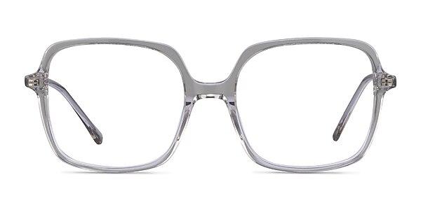 Domingo Clear Gray Acétate Montures de lunettes de vue