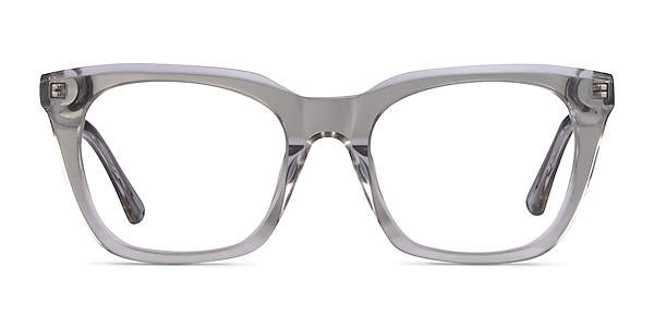 Lunar Clear Gray Acetate Eyeglass Frames