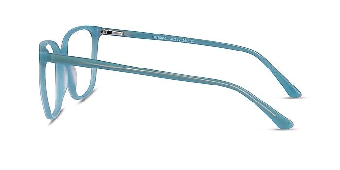 Outside Bleu Acétate Montures de lunettes de vue d'EyeBuyDirect