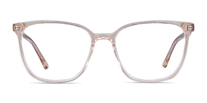 Outside Marron Acétate Montures de lunettes de vue d'EyeBuyDirect