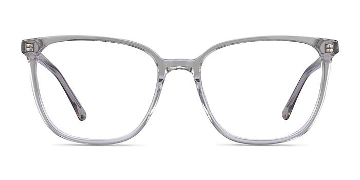 Outside Gris Acétate Montures de lunettes de vue d'EyeBuyDirect