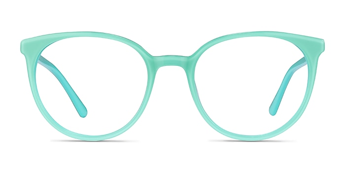 Apogee Vert Acétate Montures de lunettes de vue d'EyeBuyDirect