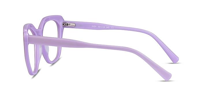 Judy Purple Acetate Eyeglass Frames from EyeBuyDirect