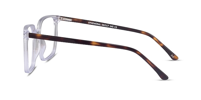 Ephemeral Clear Tortoise Acetate Eyeglass Frames from EyeBuyDirect