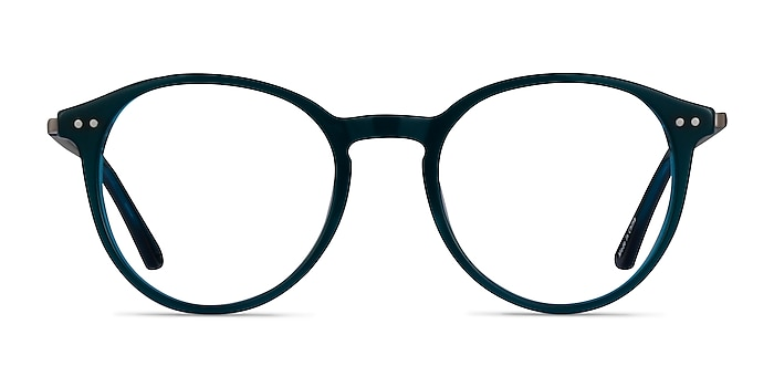 Riviere Teal Acetate Eyeglass Frames from EyeBuyDirect