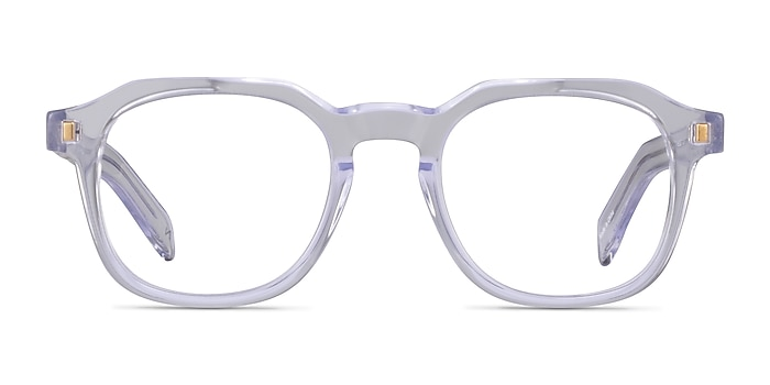Apricus Clear Acetate Eyeglass Frames from EyeBuyDirect