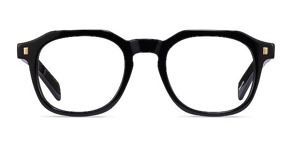 Apricus Black Acetate Eyeglass Frames