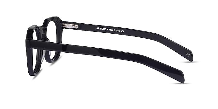 Apricus Black Acetate Eyeglass Frames from EyeBuyDirect