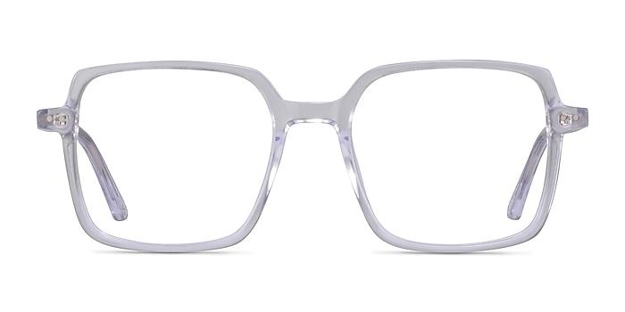 Yoko Clear Acetate Eyeglass Frames from EyeBuyDirect