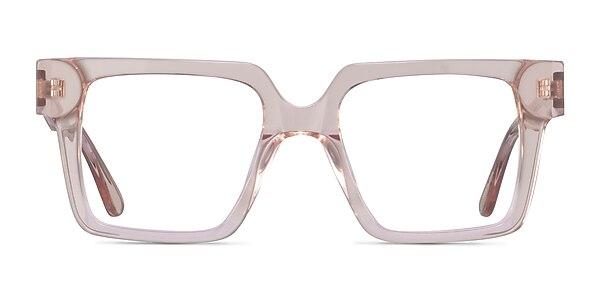 Granada Clear Pink Acetate Eyeglass Frames