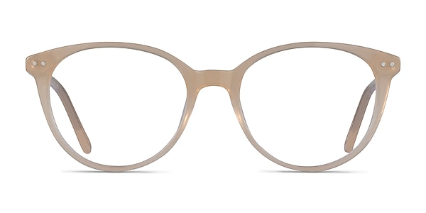 Leonia Light Yellow Acetate Eyeglass Frames