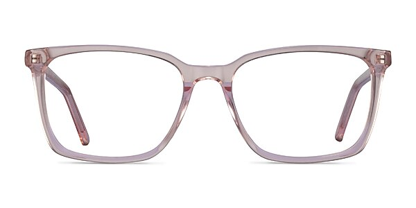 Panoply Clear Pink Acetate Eyeglass Frames