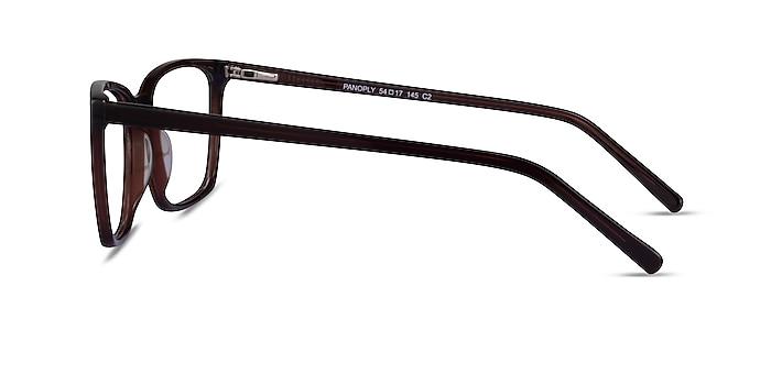 Panoply Dark Brown Acetate Eyeglass Frames from EyeBuyDirect