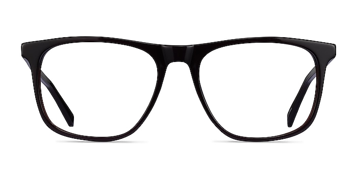 Veronese Dark Brown Acetate Eyeglass Frames from EyeBuyDirect