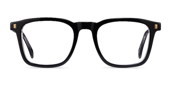 Murmur Black Acetate Eyeglass Frames from EyeBuyDirect