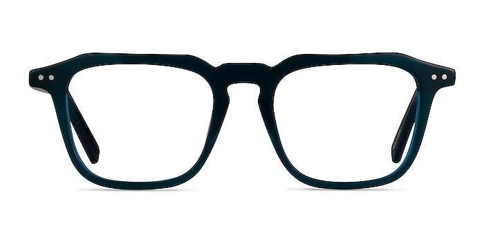 Flump Teal Acetate Eyeglass Frames from EyeBuyDirect