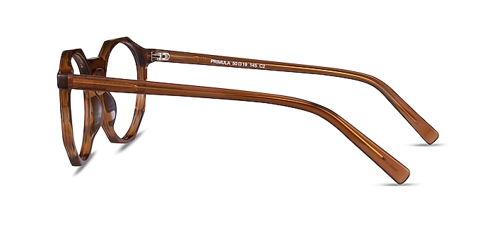 Primula Clear Brown Acetate Eyeglass Frames from EyeBuyDirect