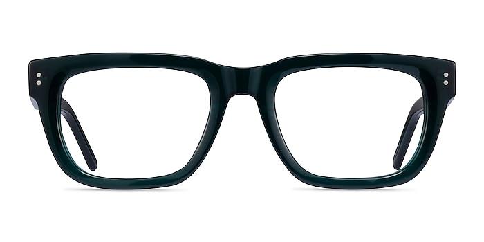 Kensington Teal Acetate Eyeglass Frames from EyeBuyDirect