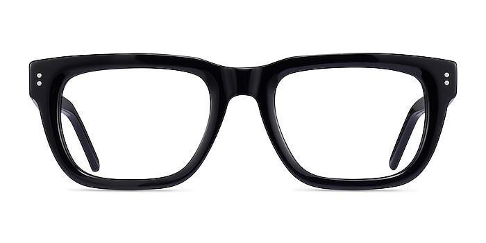 Kensington Black Acetate Eyeglass Frames from EyeBuyDirect