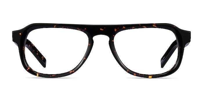 Hackney Tortoise Acetate Eyeglass Frames from EyeBuyDirect