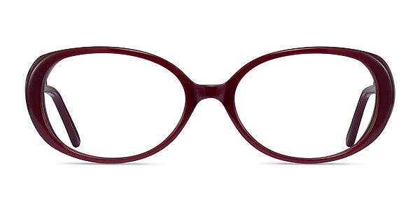 Surrey Burgundy Acetate Eyeglass Frames