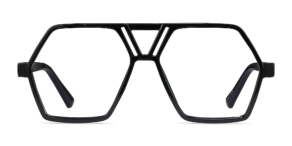 Chalton Vert Plastique Montures de lunettes de vue