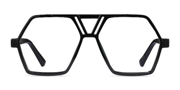 Chalton Vert Plastique Montures de lunettes de vue d'EyeBuyDirect