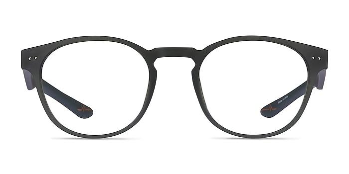 Trinity Matte Olive Plastique Montures de lunettes de vue d'EyeBuyDirect