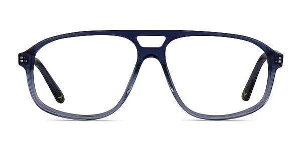Volt Clear Blue Acetate Eyeglass Frames