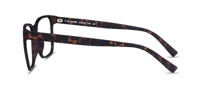 Alder Matte Tortoise Plastique Montures de lunettes de vue d'EyeBuyDirect