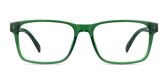 Beech Clear Green Plastic Eyeglass Frames from EyeBuyDirect
