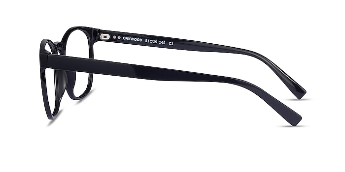 Oakwood Black Plastic Eyeglass Frames from EyeBuyDirect