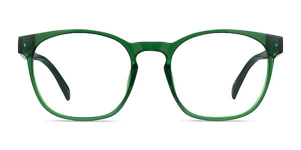 Oakwood Clear Green Plastique Montures de lunettes de vue