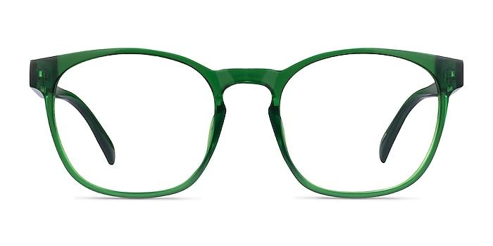 Oakwood Clear Green Plastique Montures de lunettes de vue d'EyeBuyDirect
