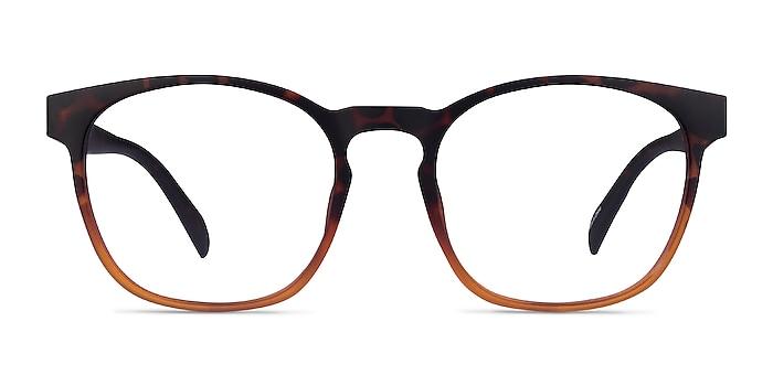 Oakwood Matte Tortoise Brown Plastique Montures de lunettes de vue d'EyeBuyDirect