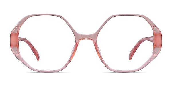 Cypress Clear Nude Plastic Eyeglass Frames