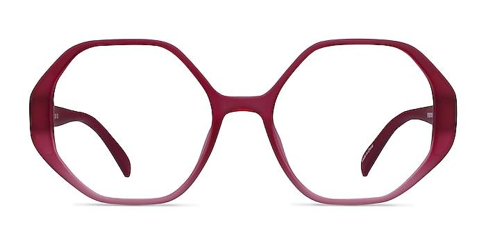 Cypress Matte Red Plastic Eyeglass Frames from EyeBuyDirect